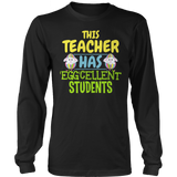 Teacher - Eggcellent - District Long Sleeve / Black / S - 12