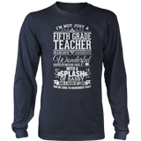Fifth Grade - Big Cup - District Long Sleeve / Navy / S - 10