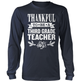 Third Grade - Thankful - District Long Sleeve / Navy / S - 2