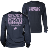 Theater - Teach Mine - District Long Sleeve / Navy / S - 6