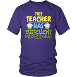 Music - Eggcellent - District Unisex Shirt / Purple / S - 6