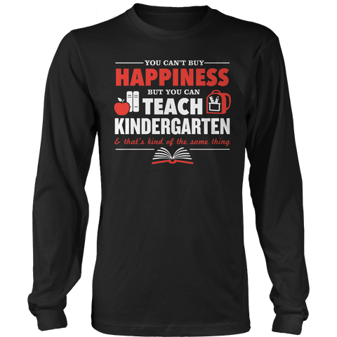 Kindergarten - Happiness - District Long Sleeve / Black / S - 1