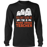 Third Grade - Ghosts - District Long Sleeve / Black / S - 7