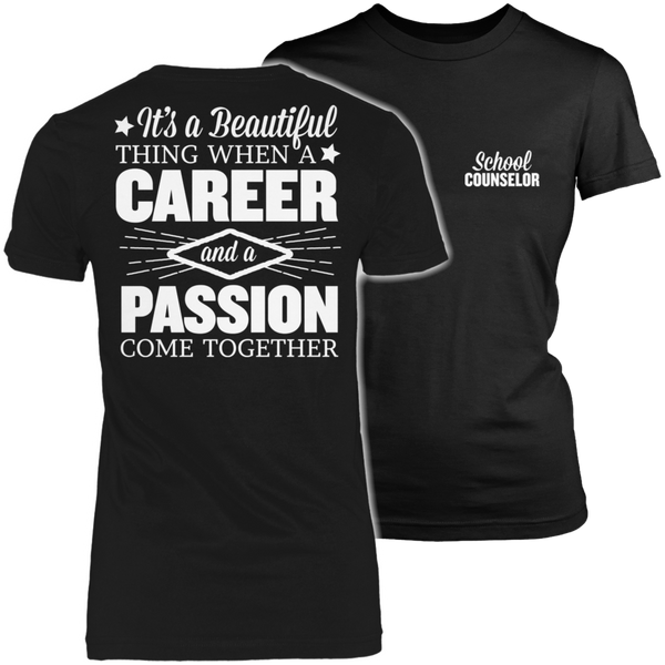 Counselor - Beautiful Thing - District Made Womens Shirt / Black / S - 1