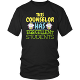 Counselor - Eggcellent Students - District Unisex Shirt / Black / S - 7