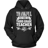 Third Grade - Thankful - Hoodie / Black / S - 12