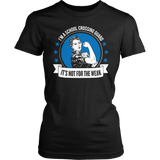 Crossing Guard - Not For The Weak - District Made Womens Shirt / Black / S - 7