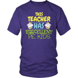 Phys Ed - Eggcellent PE Kids - District Unisex Shirt / Purple / S - 6