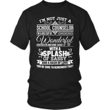 Counselor - Big Cup - District Unisex Shirt / Black / S - 6