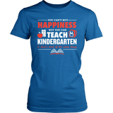 Kindergarten - Happiness - District Made Womens Shirt / Royal / S - 7