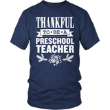 Preschool - Thankful - District Unisex Shirt / Navy / S - 8