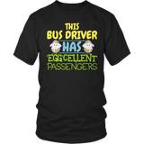 School Bus Driver - Eggcellent - District Unisex Shirt / Black / S - 7