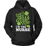 Nurse - Don't Kiss Me - Hoodie / Black / S - 11