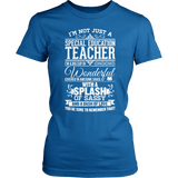 Special Education - Big Cup - District Made Womens Shirt / Royal / S - 4