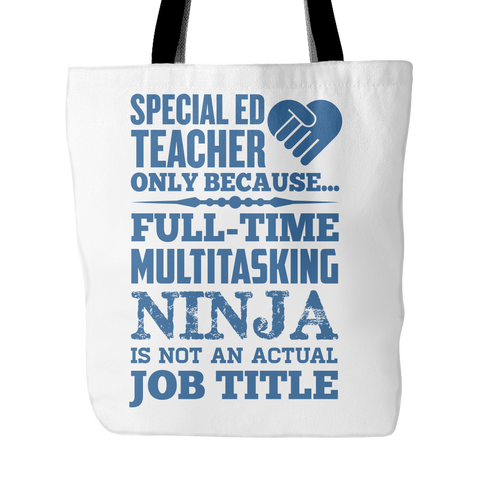 Special Education - Multitasking Ninja - Keep It School - 1
