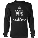 Theater - Dont Keep Calm - District Long Sleeve / Black / S - 9
