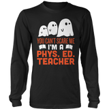 Phys Ed - Ghosts - District Long Sleeve / Black / S - 7