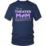 Theater - Proud Mom - District Unisex Shirt / Navy / S - 6