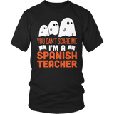 Spanish - Halloween Ghost - District Unisex Shirt / Black / S - 2