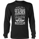 Fifth Grade - Big Cup - District Long Sleeve / Black / S - 9