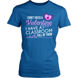 Special Education - Classroom Full - District Made Womens Shirt / Royal / S - 5
