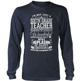 Sixth Grade - Big Cup - District Long Sleeve / Navy / S - 10