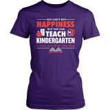 Kindergarten - Happiness - District Made Womens Shirt / Purple / S - 4
