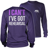 Theater - I Cant - District Long Sleeve / Purple / S - 11