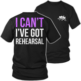 Theater - I Cant - District Unisex Shirt / Black / S - 5