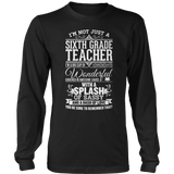 Sixth Grade - Big Cup - District Long Sleeve / Black / S - 9