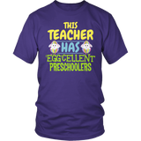 Preschool - Eggcellent - District Unisex Shirt / Purple / S - 6