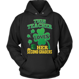 Second Grade - St. Patrick's Second Graders - Hoodie / Black / S - 11