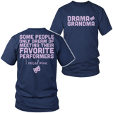 Theater - Grandma Raised Mine - District Unisex Shirt / Navy / S - 4