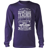 Second Grade - Big Cup - District Long Sleeve / Purple / S - 11