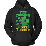 Fifth Grade - St. Patrick's Fifth Graders - Hoodie / Black / S - 11