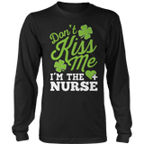 Nurse - Don't Kiss Me - District Long Sleeve / Black / S - 10