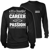 School Bus Driver - Beautiful Thing - District Long Sleeve / Black / S - 9