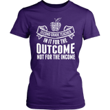 Second Grade - Outcome - District Made Womens Shirt / Purple / S - 1