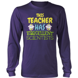 Science - Eggcellent - District Long Sleeve / Purple / S - 10