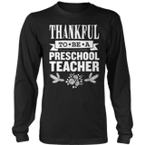 Preschool - Thankful - District Long Sleeve / Black / S - 1