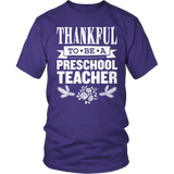 Preschool - Thankful - District Unisex Shirt / Purple / S - 10