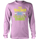 Teacher - Eggcellent - District Long Sleeve / Pink / S - 11