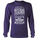 Sixth Grade - Big Cup - District Long Sleeve / Purple / S - 11