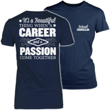 Counselor - Beautiful Thing - District Made Womens Shirt / Navy / S - 2