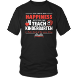 Kindergarten - Happiness - District Unisex Shirt / Black / S - 9