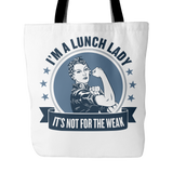 Lunch Lady - Not For The Weak - Keep It School - 1