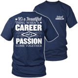 Counselor - Beautiful Thing - District Unisex Shirt / Navy / S - 6