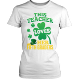 Fifth Grade - St. Patrick's Fifth Graders - District Made Womens Shirt / White / S - 6