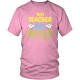 Phys Ed - Eggcellent PE Kids - District Unisex Shirt / Pink / S - 8