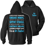Art - Engage Minds - Hoodie / Black / S - 12